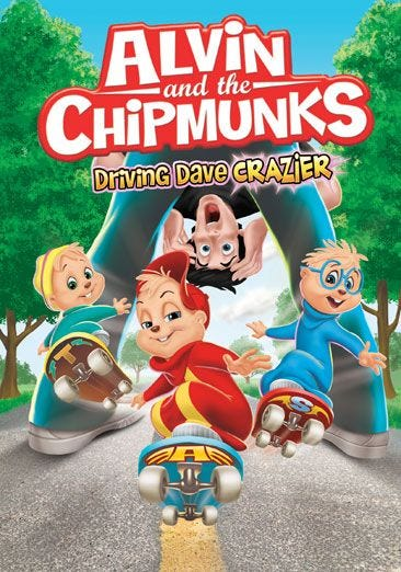 Buy Or Rent Alvin And The Chipmunks Driving Dave Crazier Movie Now Family Video