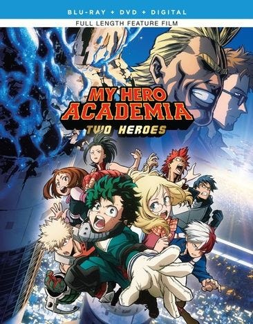 My Hero Academia Two Heroes Dvd Digital Copy Blu Ray For Rent Or Purchase Now Family Video
