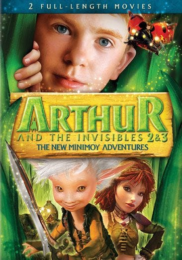 Arthur And The Invisibles 2 3 The New Minimoy Adventures Blu Ray Dvd Buy At Familyvideo Com Family Video