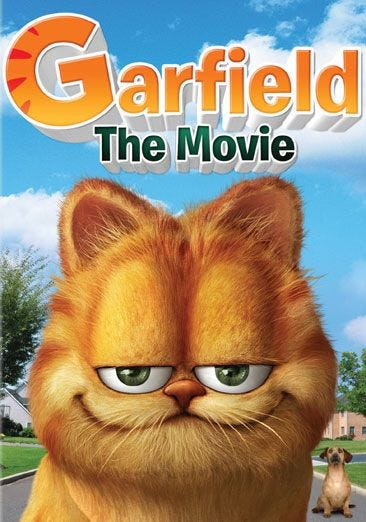 Rent Buy Movie Garfield The Movie New Box Art Dvd Now Family Video