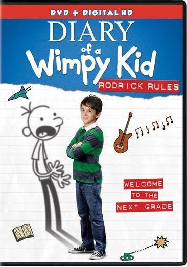 Buy Or Rent Diary Of A Wimpy Kid Rodrick Rules Digital Hd With Ultraviolet Dvd Movie Now Family Video