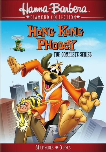 Hong Kong Phooey Coloring Pages - Learny Kids | 522x366