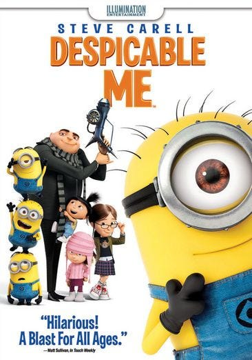 Buy Or Rent Despicable Me Dvd Movie Now Family Video