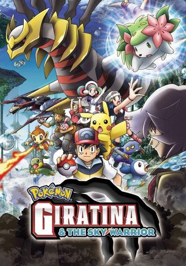Buy Or Rent Pokemon Giratina And The Sky Warrior Movie Now