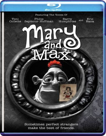 Rent Buy Movie Mary And Max Blu Ray Now Family Video