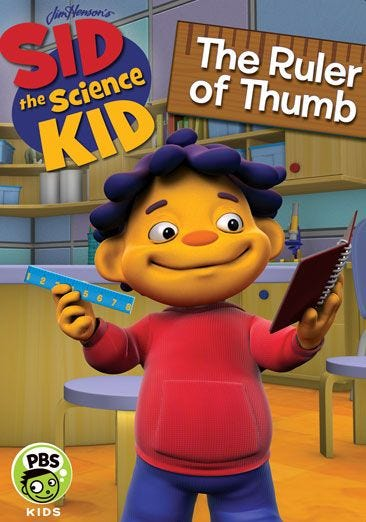 buy or rent sid the science kid ruler of thumb movie now family video family video