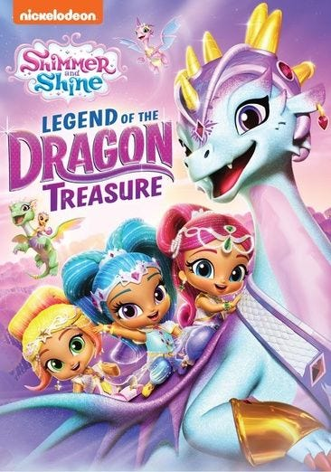 Rent Buy Or Watch Shimmer Shine Legend Of The Dragon Treasure Movie Now Family Video