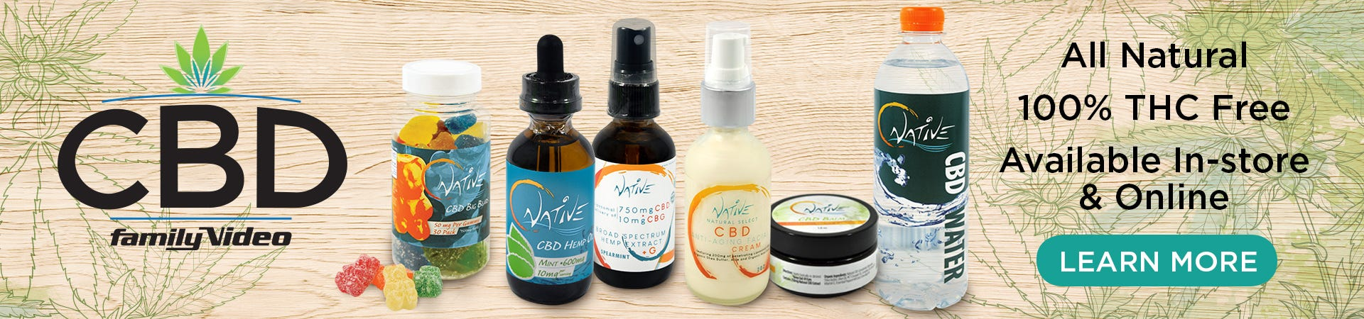 Your Trusted Source For High-Quality, All Natural THC-Free CBD