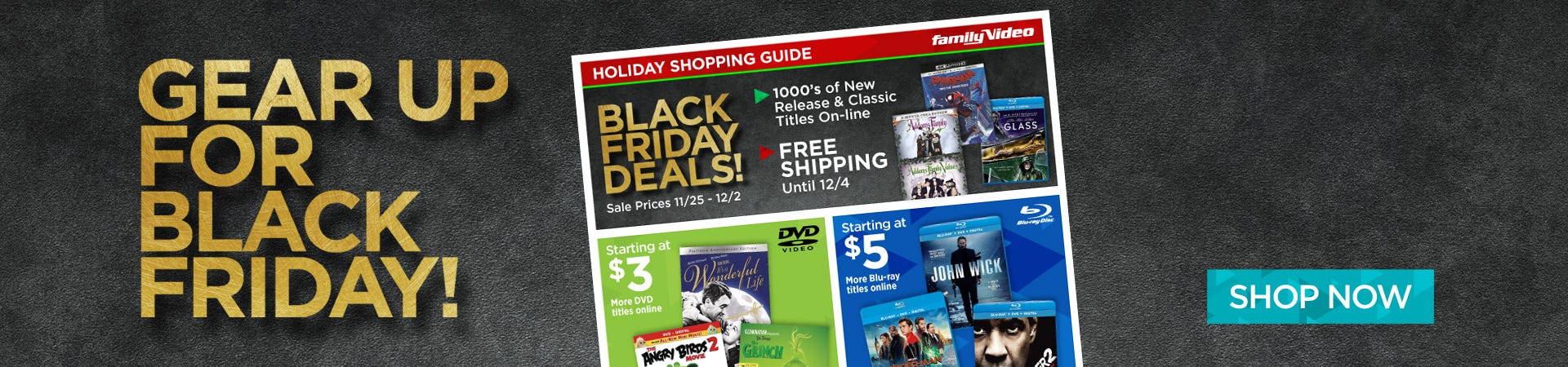 Browse Our Preview Ad For Upcoming Black Friday Deals!